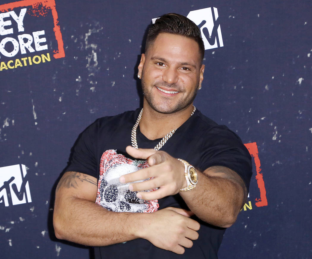 FILE - In this Thursday, March 29, 2018 file photo, Ronnie Ortiz-Magro arrives at the LA Premie ...