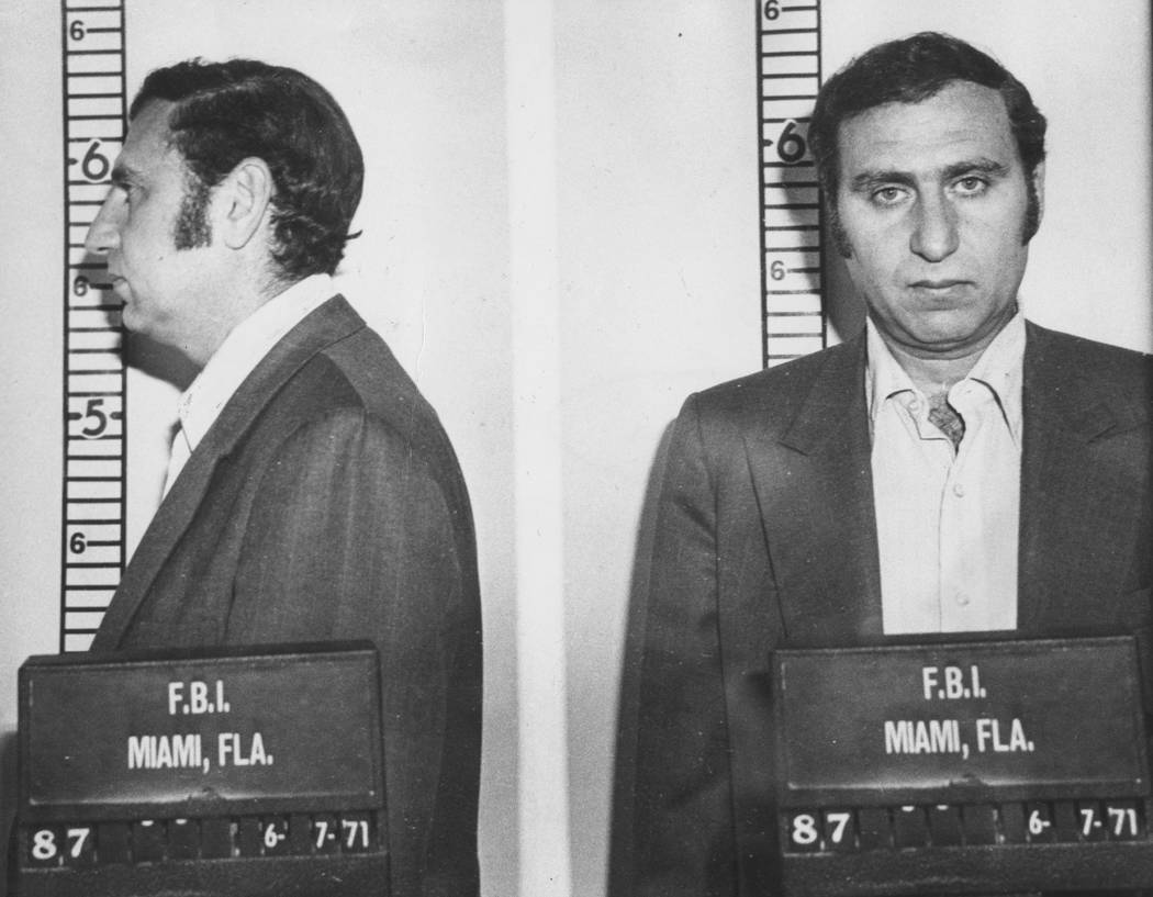 Former FBI special agent Joseph Yablonsky poses for a mug shot in this undated Review-Journal f ...