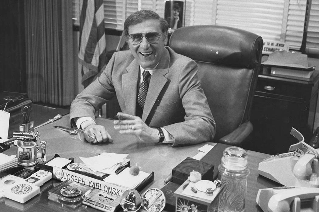Former FBI special agent Joseph Yablonsky is pictured in this undated Review-Journal file photo ...