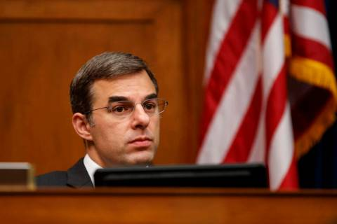 House Oversight and Reform National Security subcommittee member Rep. Justin Amash, R-Mich., lo ...