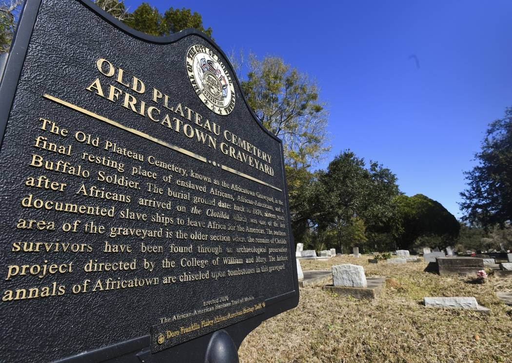 FILE - In this Tuesday, Jan. 29, 2019, file photo, Old Plateau Cemetery, the final resting plac ...