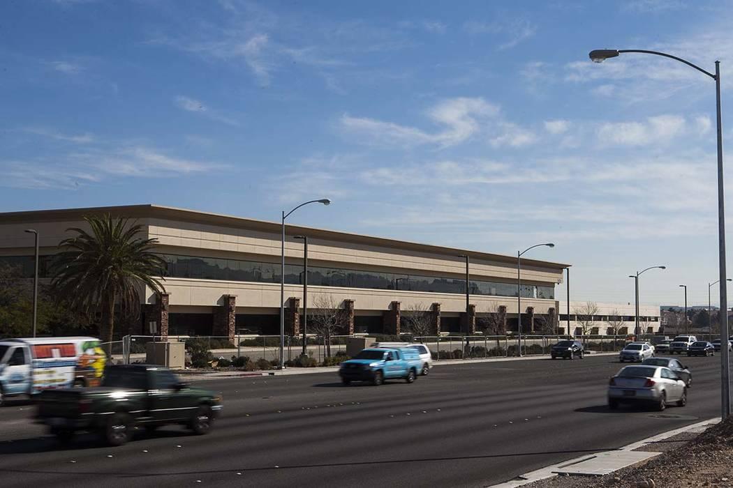 Property owned by Las Vegas businessman Edwin Fujinaga along Durango Road near Hacienda Avenue ...