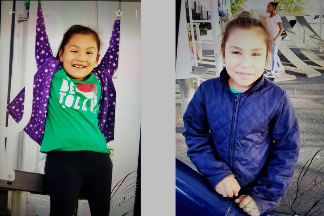 Detectives are searching for Kenia Gonzalez, 6, and Lina Gonzalez, 9. The two were last seen at ...