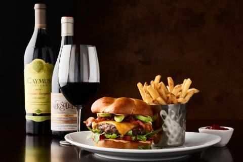 California Burger at Fleming's (Fleming's Prime Steakhouse & Wine Bar)