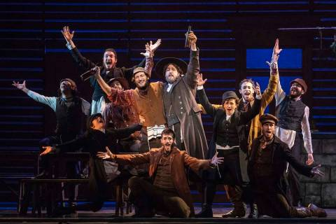 "The cast of ""Fiddler on the Roof."" (Joan Marcus)"