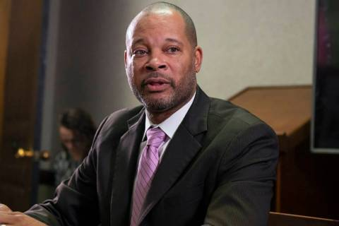 Attorney General Aaron Ford, seen in 2018. (Las Vegas Review-Journal)