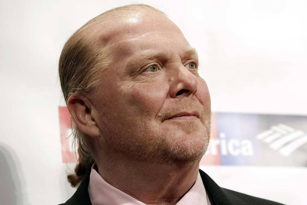 In a Wednesday, April 19, 2017, file photo, chef Mario Batali attends an awards event in New Yo ...