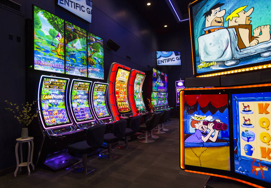 Slot machines looking for attention with advanced technology | Las Vegas  Review-Journal