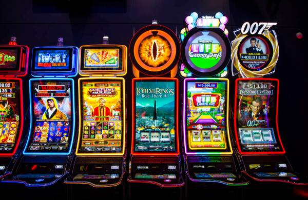 A variety of the J43 slot cabinets at the Scientific Games showroom in Las  Vegas on Wednesday, … | Las Vegas Review-Journal