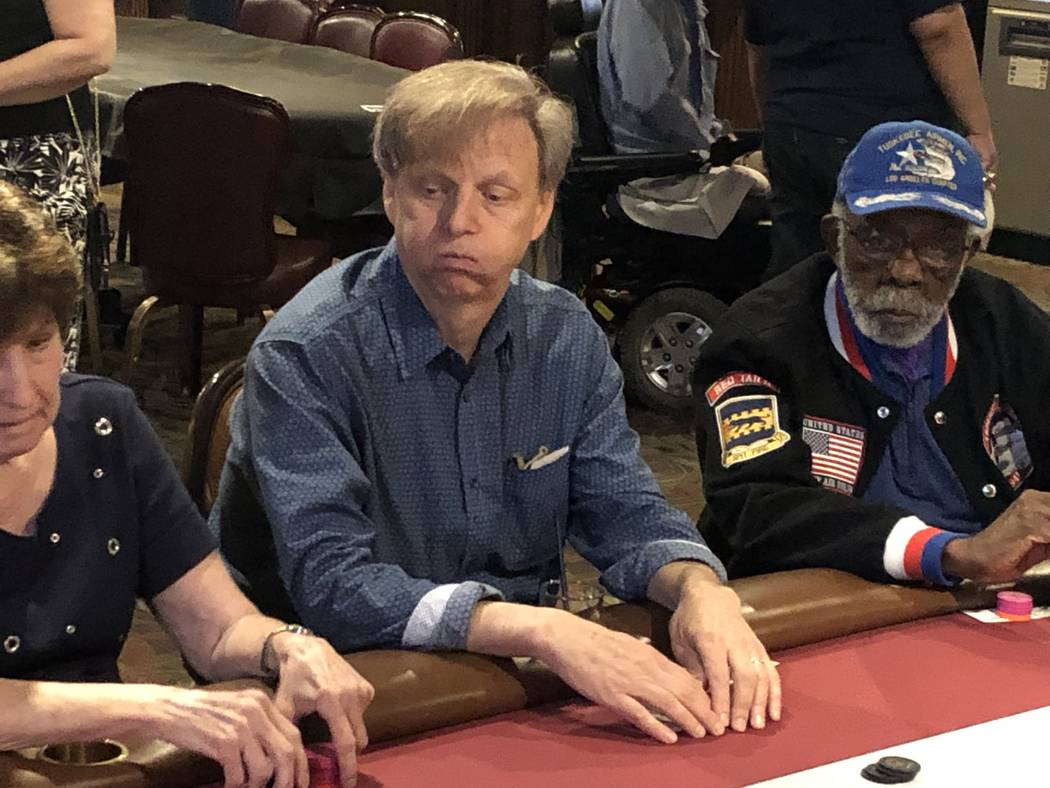 Long-running Harrah's headliner Mac King is shown at the annual U.S. Vets Celebrity Poker Tourn ...