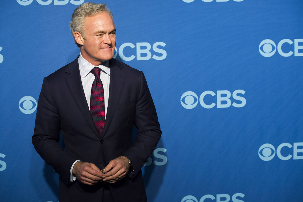 File-This May 15, 2013, file photo shows Scott Pelley attending the CBS Upfront in New York. Th ...