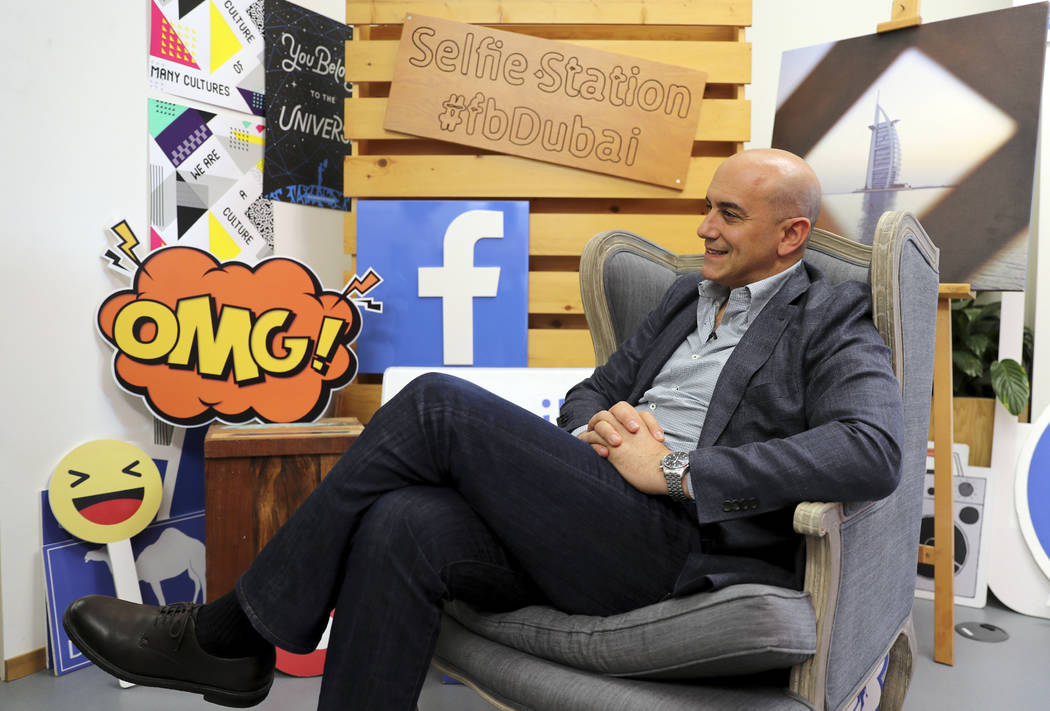 Facebook's Managing Director for the Middle East and North Africa, Ramez Shehadi speaks to The ...