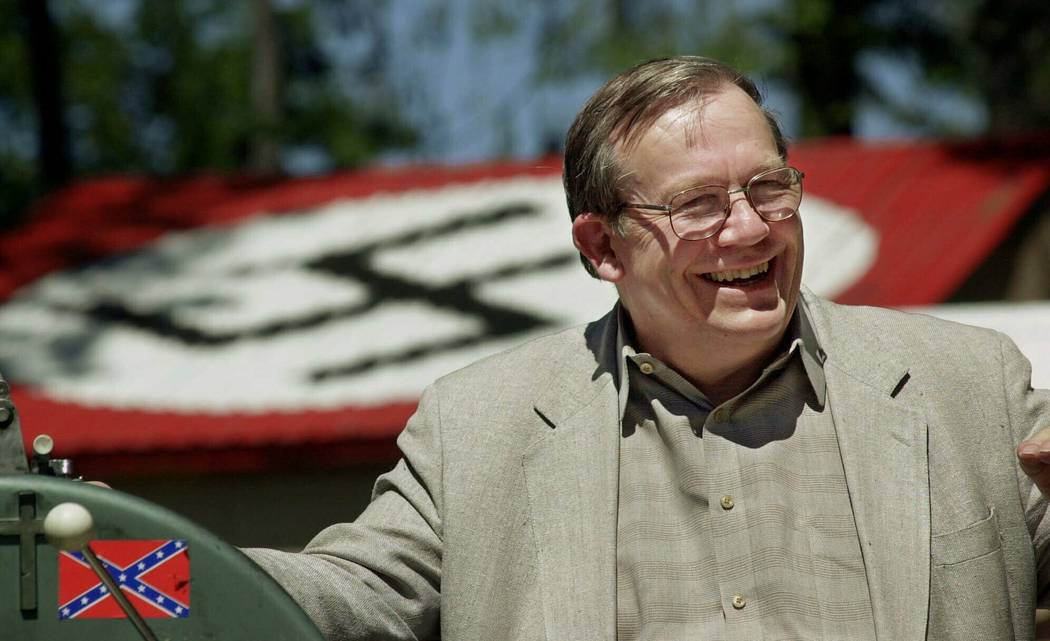 FILE - In this May 22, 2001, file photo, Norm Gissel smiles as he talks about the imminent dism ...