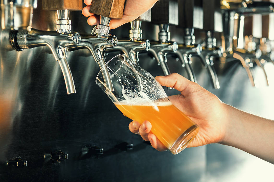 Las Vegans can enjoy free Coors Light if the city breaks record temperatures in June. (Getty Im ...