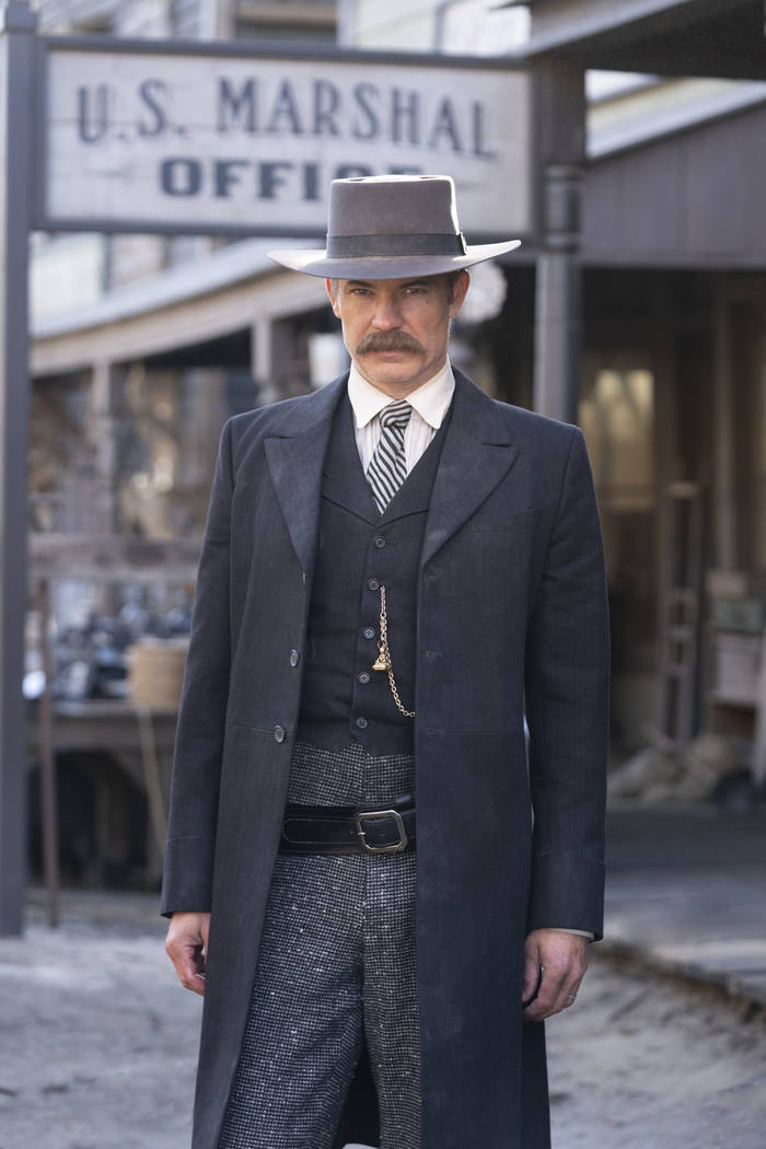 """Timothy Olyphant in """"Deadwood: The Movie."""" (Warrick Page/HBO)"""