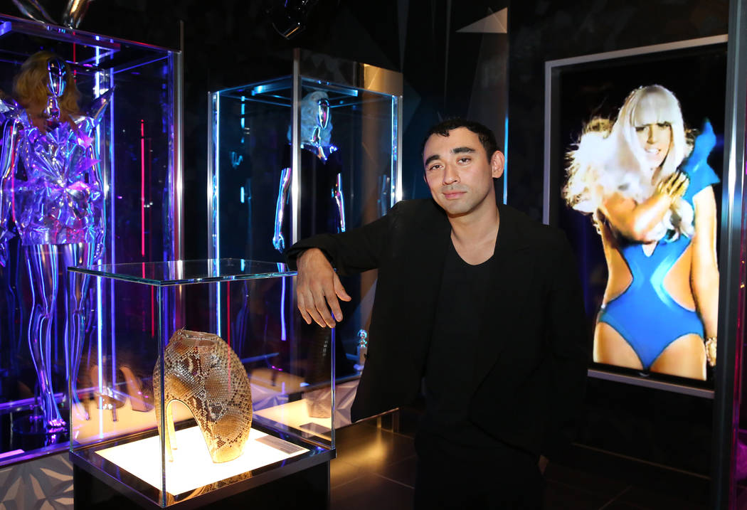 Haus of Gaga Curator Nicola Formichetti poses for a photo at Haus of Gaga store during a media ...