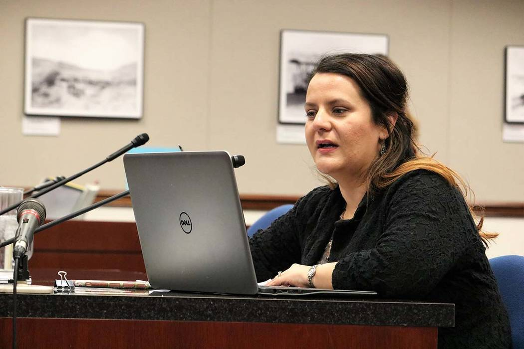 Holly Welborn, policy director for the ACLU of Nevada. (Victor Joecks/Las Vegas Review-Journal) ...