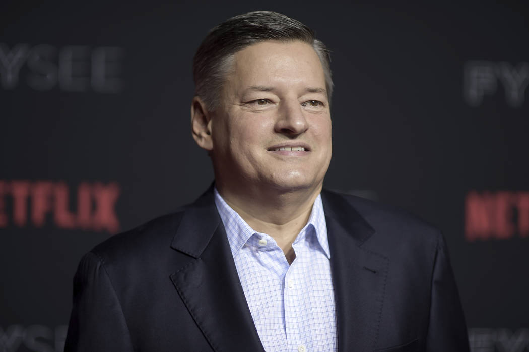 Netflix Chief Content Officer Ted Sarandos at the May 6, 2018, Netflix FYSee Kick-Off Event in ...