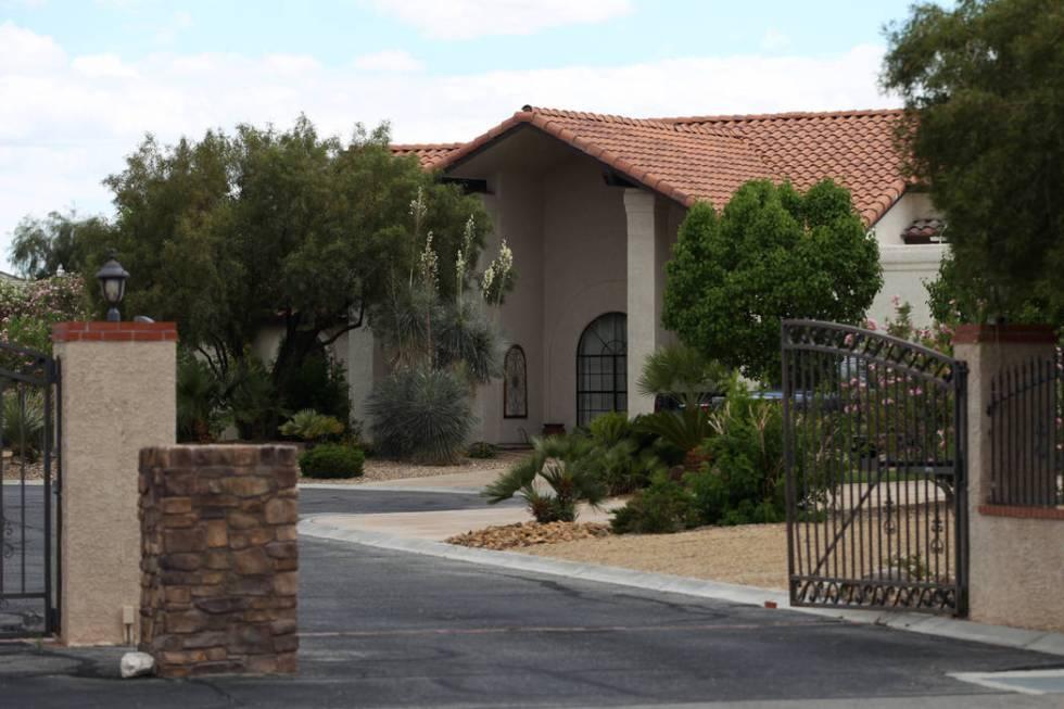 The home at 3935 W. Maule Avenue in Las Vegas, Tuesday, May 28, 2019. (Erik Verduzco / Las Vega ...