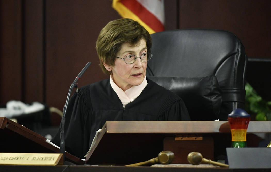 Judge Cheryl Blackburn listens to testimony during the sentencing phase of Emanuel Samson's tri ...