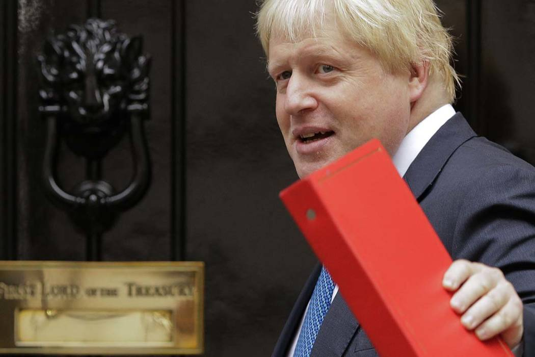 Boris Johnson. (AP Photo/Alastair Grant, File)