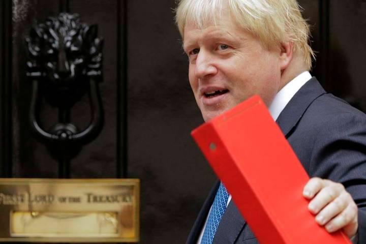 Boris Johnson. (AP Photo/Alastair Grant, File)