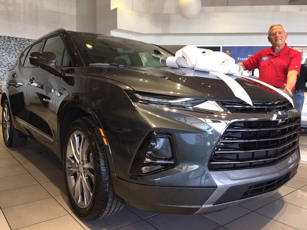 Chevrolet Las Vegas >> All New 2019 Chevy Blazer Has Arrived At Findlay Chevrolet