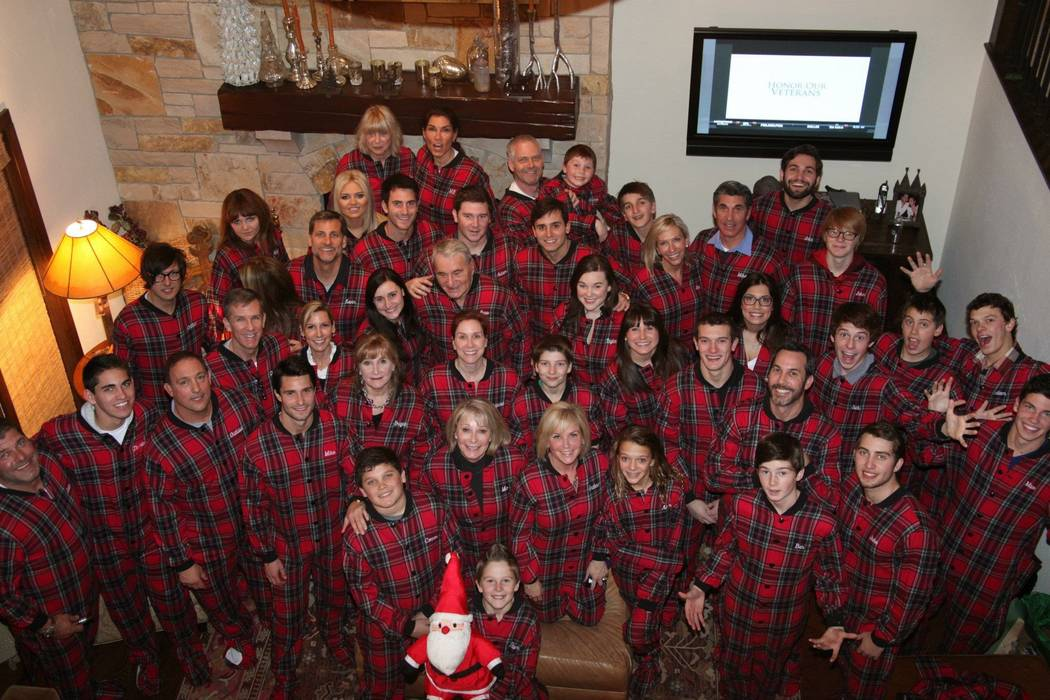 Christmas in Idaho. Thomas Olsen, on the bottom left, is always full of smiles. Photo courtesy: ...