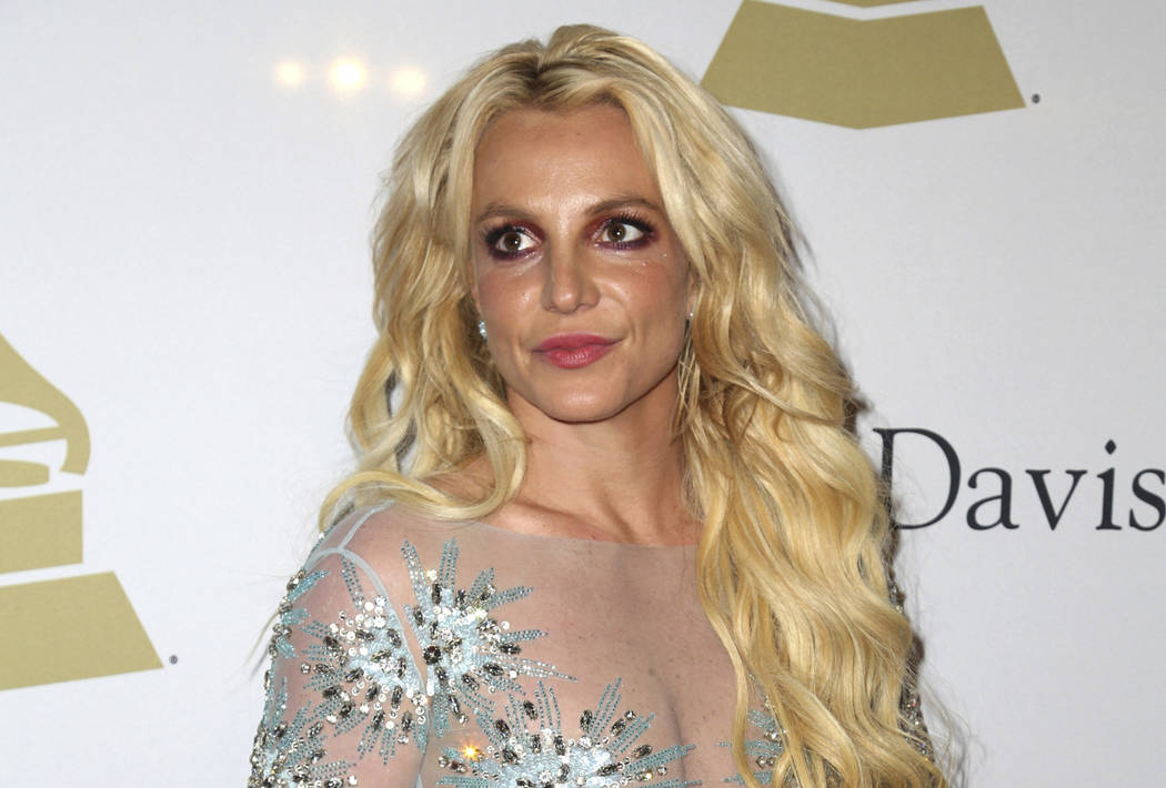 FILE - This Feb. 11, 2017 file photo shows Britney Spears at the Clive Davis and The Recording ...