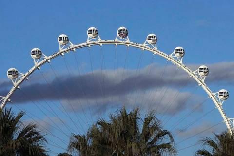 The High Roller on the Las Vegas Strip (Bizuayehu Tesfaye/Las Vegas Review-Journal) @bizutesfaye
