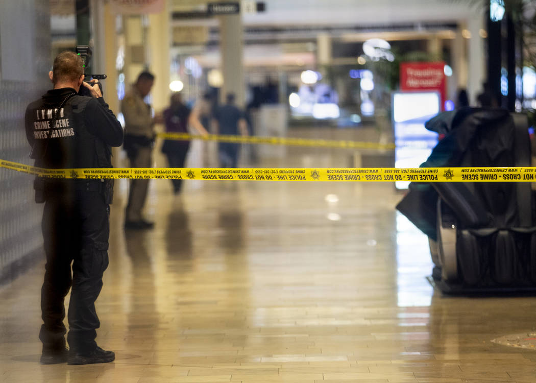 Suspect in Las Vegas Strip mall shooting faces 15 counts