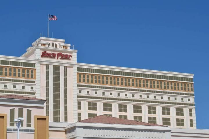 The exterior of the South Point at 9777 S. Las Vegas Blvd. in Las Vegas. (Bill Hughes/Las Vegas ...