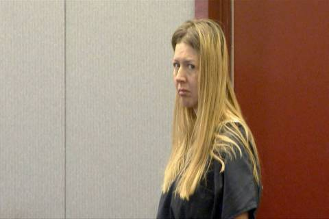 Linette Boedicker, accused of drowning her 2-year-old daughter in bathtub, appears at the Regio ...