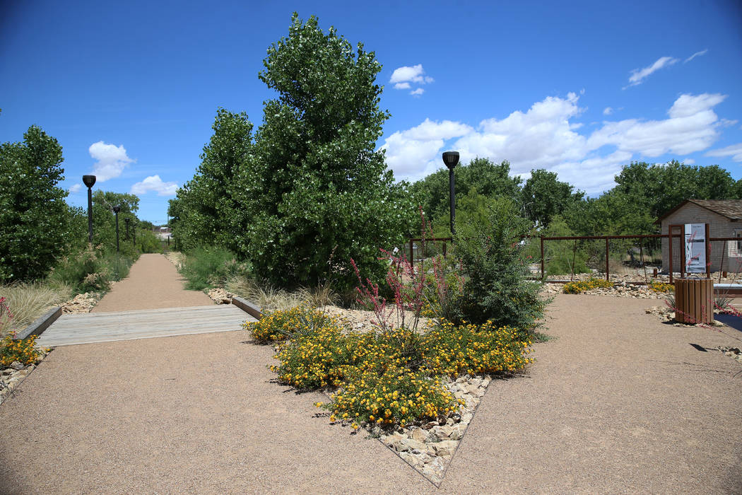 Kiel Ranch Historic Park in North Las Vegas, Wednesday, May 29, 2019. (Erik Verduzco / Las Vega ...