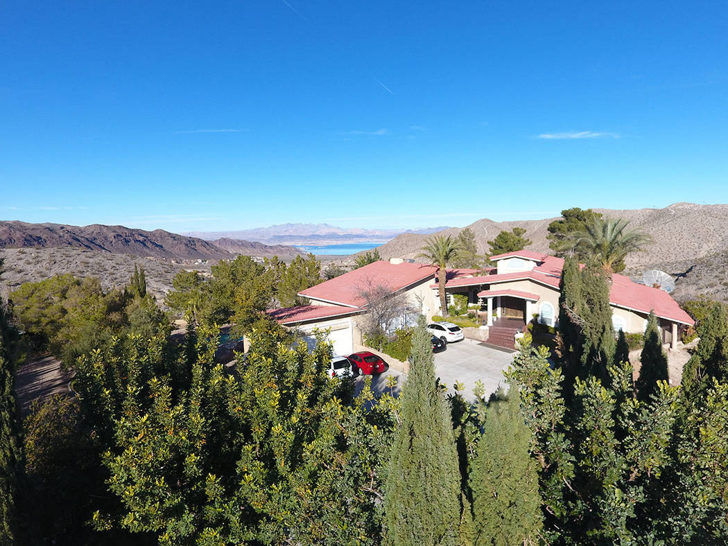 A 4,341-square-foot estate at 401 Ave. I in Boulder City is listed for $4.5 million. (Mt. Charl ...