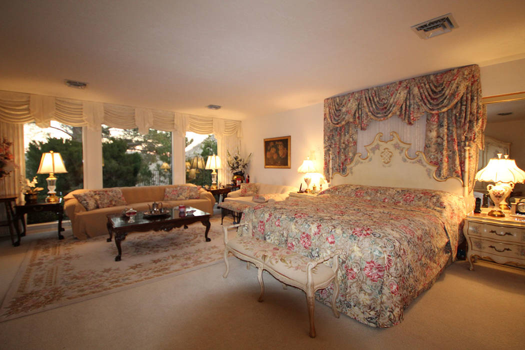 The master suite. (Mt. Charleston Realty)