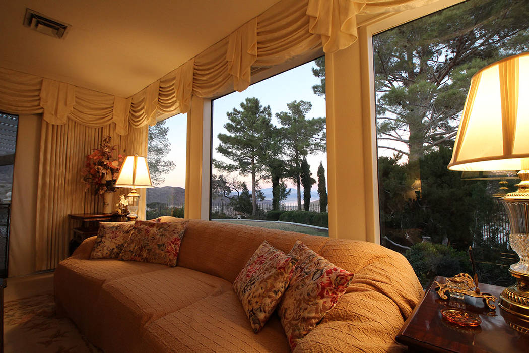Mt. Charleston Realty Views of Lake Mead can be seen from many rooms.