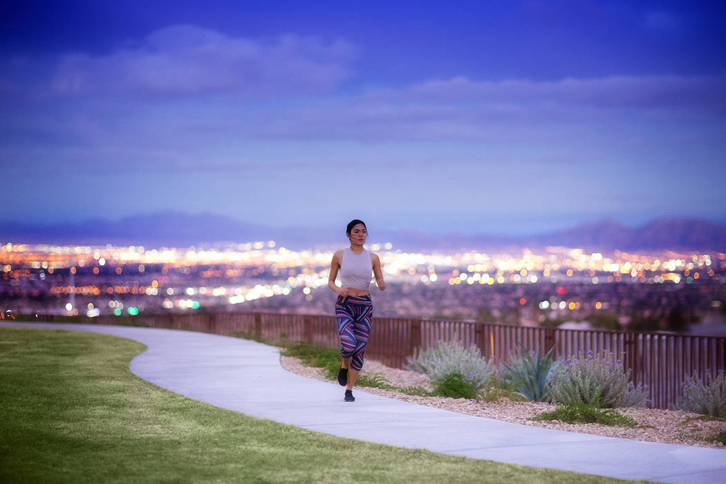 Spanning more than 150 miles, the award-winning Summerlin Trail system links neighborhoods, par ...