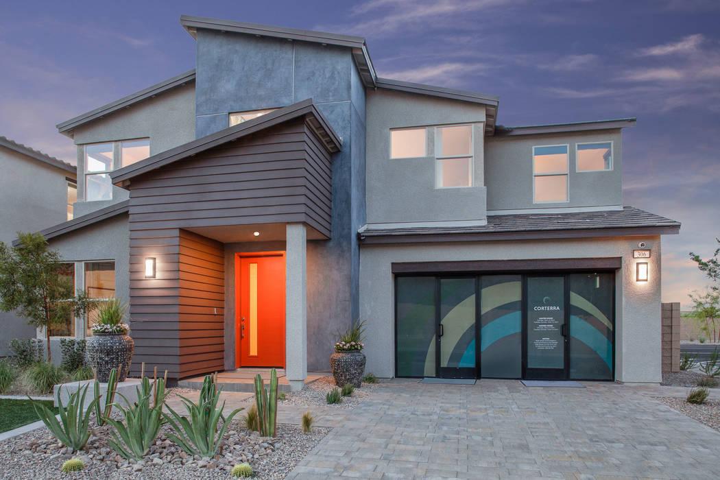 Pardee Homes' Corterra neighborhood is off Horizon Ridge Parkway, east of Valle Verde Drive i ...