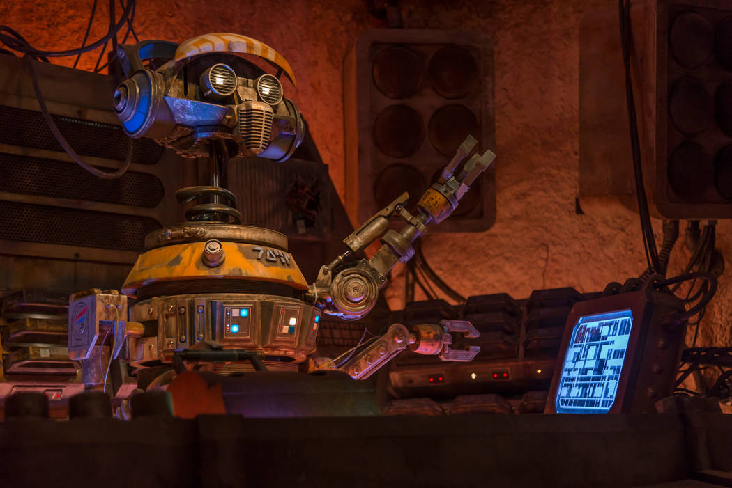 When guests visit Star Wars: Galaxy's Edge at Disneyland Park in Anaheim, California, and at Di ...