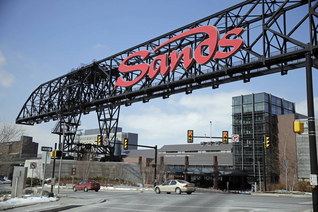 This Feb. 25, 2015, file photo shows Sands Casino Resort Bethlehem in Bethlehem, Pa. Las Vegas ...