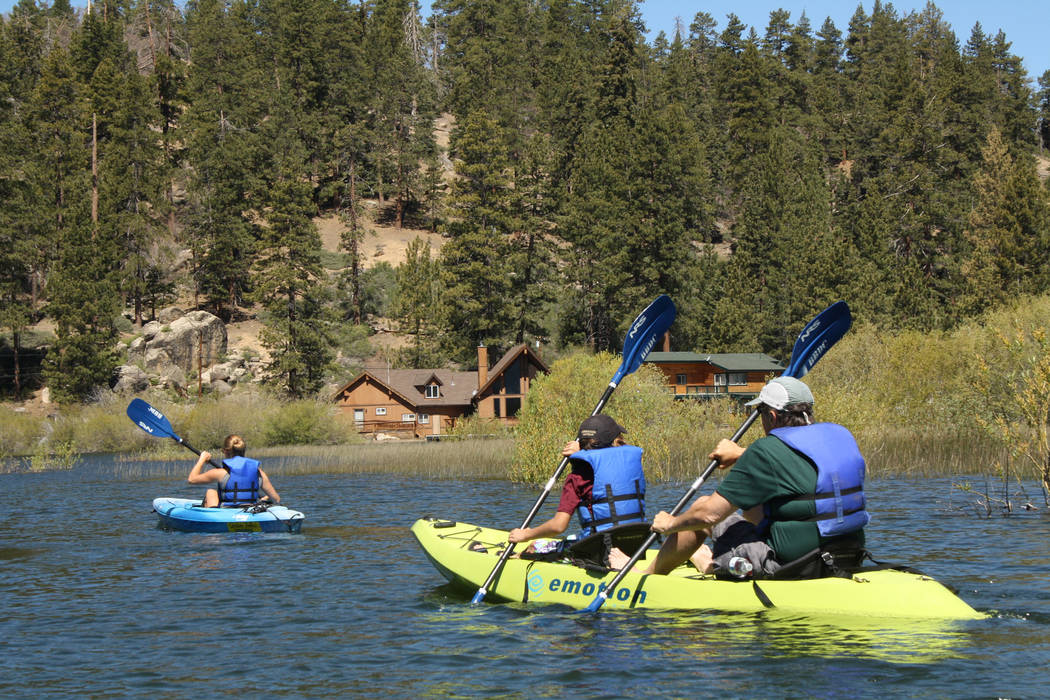 Kayaking, paddleboarding and canoeing are popular ways to explore Southern California's Big Bea ...