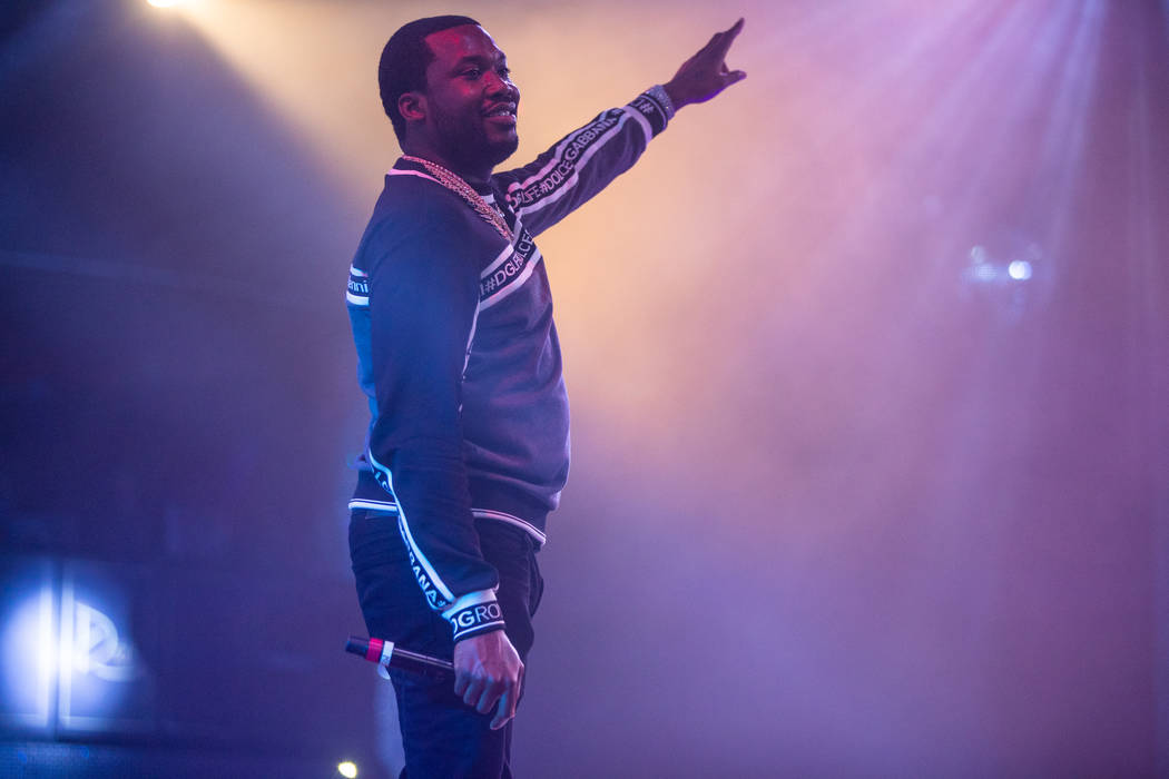 Meek Mill at Drai's Nightclub (Tony Tran)