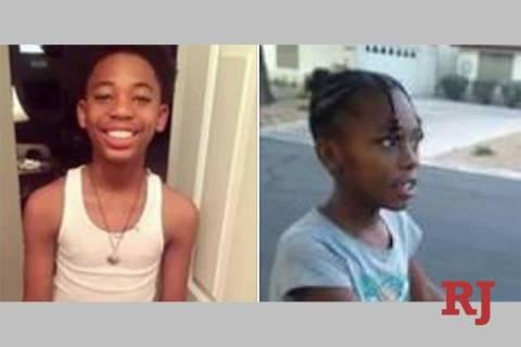 JordanHardison,13,and Ja-LeyahKeele,9(Las Vegas Metropolita ...