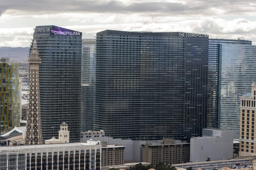 The Cosmopolitan of Las Vegas, seen in 2018. (Las Vegas Review-Journal)