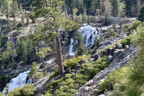 Eagle Falls at Emerald Bay State Park (North Tahoe Fire Protection District/Facebook)