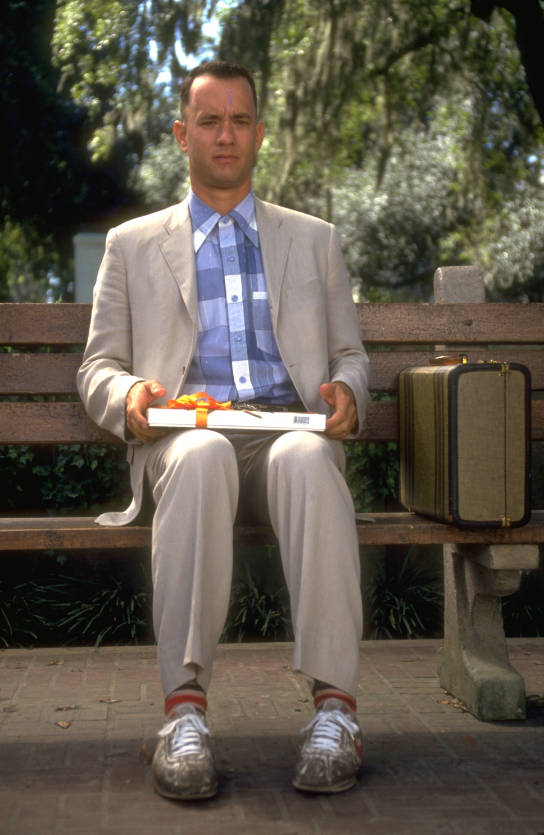 "Tom Hanks in ""Forrest Gump."" (Paramount Pictures)"