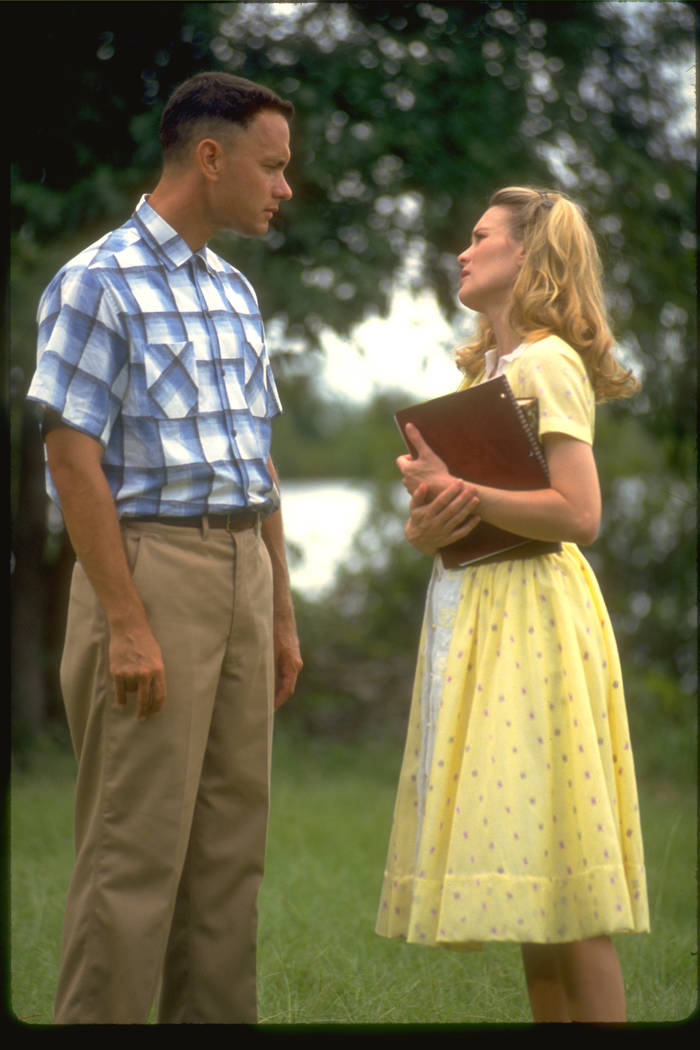 "Tom Hanks and Robin Wright in ""Forrest Gump."" (Paramount Pictures)"