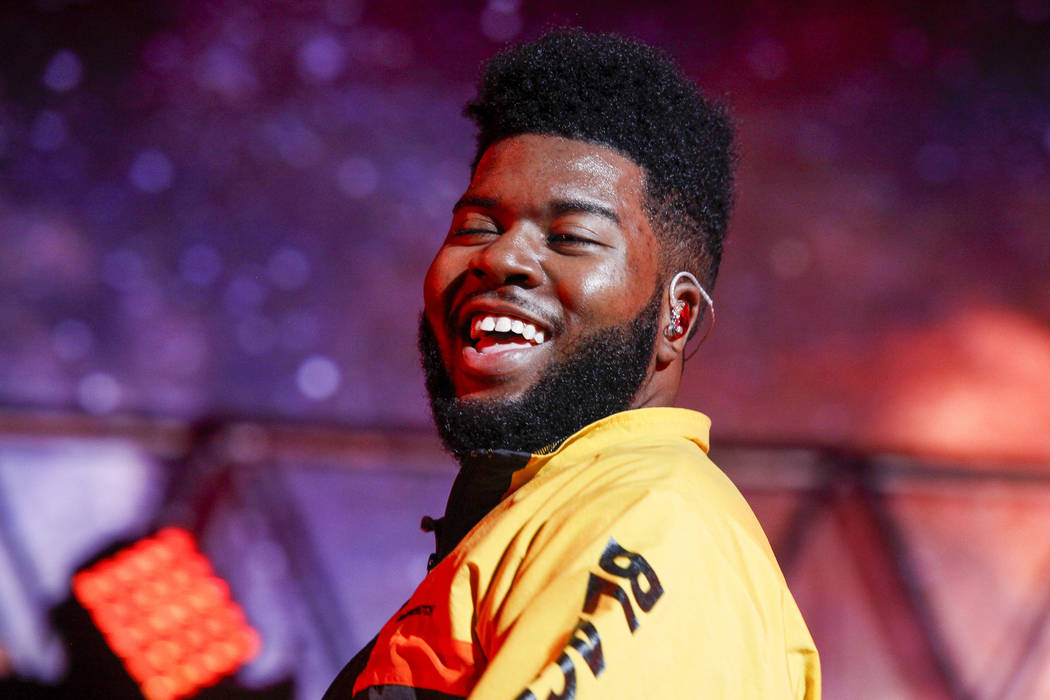 Khalid performs at Radio City Music Hall on Saturday, Jan. 27, 2018, in New York. (Photo by And ...