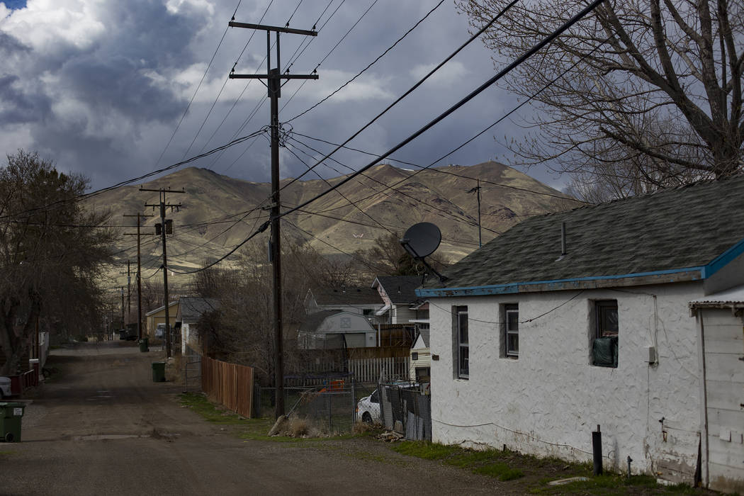 Winnemucca, Nev., Tuesday, April 9, 2019. Suicide rates in rural areas such as Winnemucca, whic ...